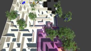 Prismatic Maze - Deciduous Trees