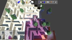 Prismatic Maze - Conifer Trees