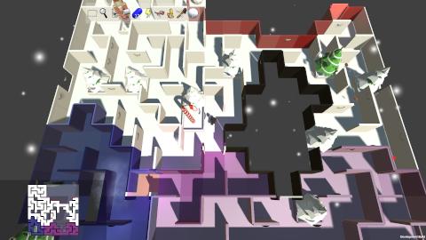 Prismatic Maze - Christmas Decorations