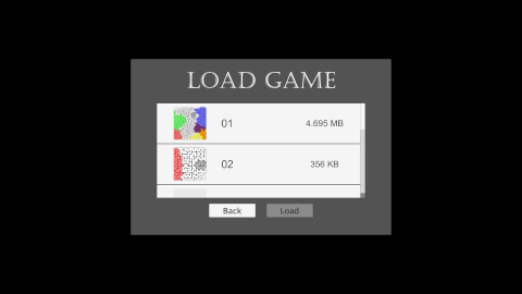 Prismatic Maze - Load Game (En)