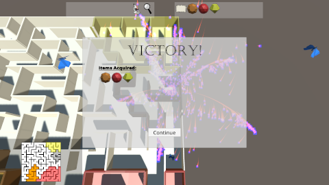 Prismatic Maze - Victory (En)