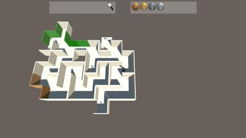 Prismatic Maze - Coins
