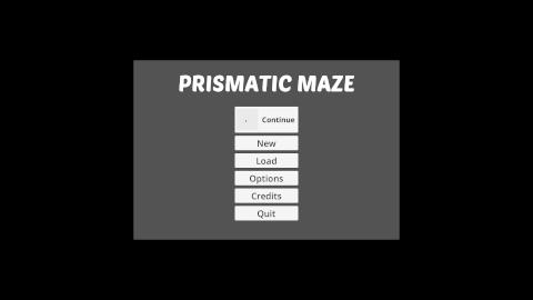 Prismatic Maze - Main Menu (En)