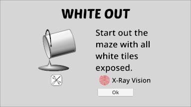 Prismatic Maze - White Out