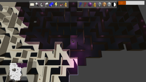Prismatic Maze - Dark Purple